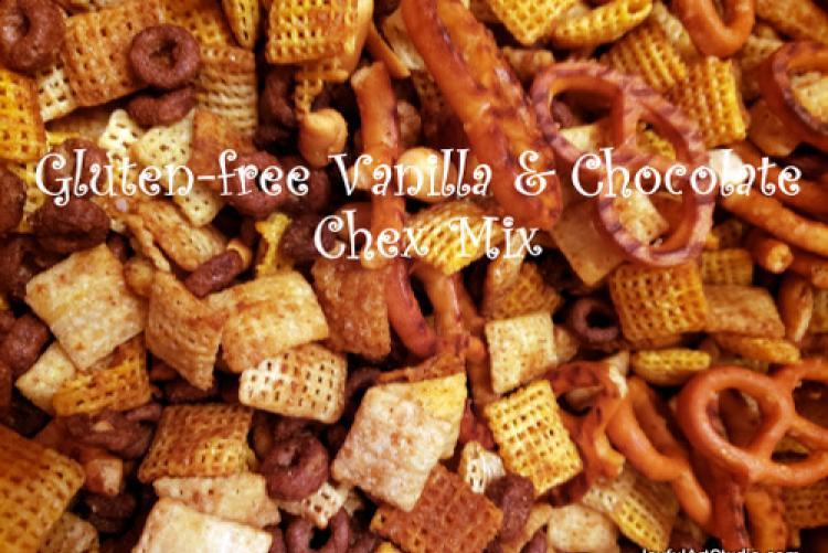 Gluten-free Vanilla & Chocolate Chex Mix