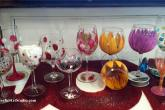Wine Glass Painting, 2 glasses. 2 hour, class fee is $35 — at Joyful Arts Studio.